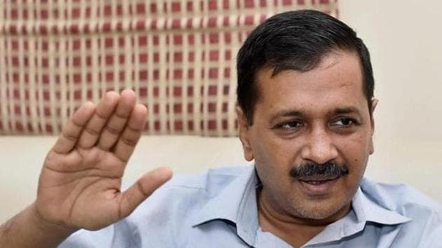 A court on Monday discharged Delhi chief minister Arvind Kejriwal in a criminal defamation complaint filed against him over his alleged 'thulla' remark against the city police.(PTI)