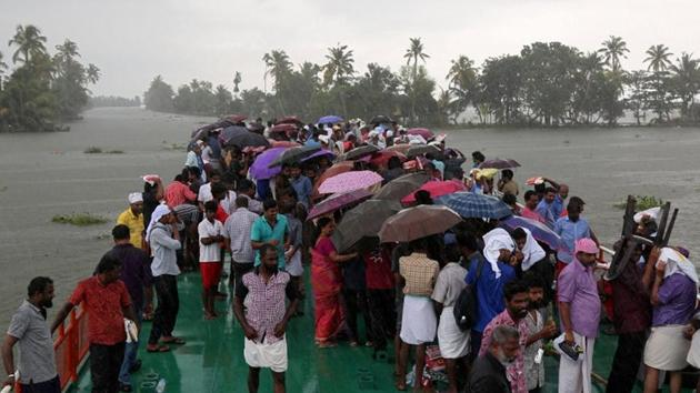 Kerala suffered its worst monsoon flooding in recent history, killing 400 people and driving one million more from their homes, UN chief Antonio Guterres said.(Reuters)