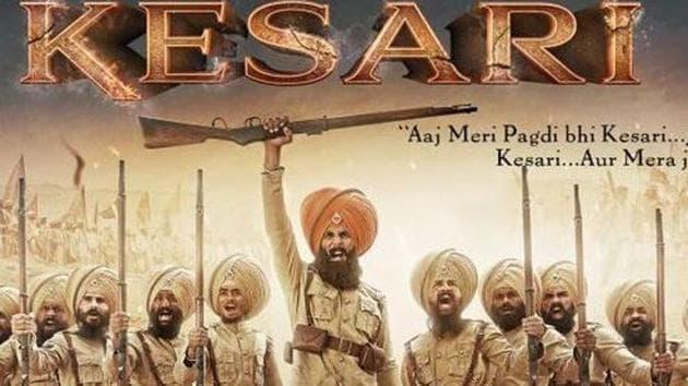 Kesari first poster has Akshay Kumar raring for battle.