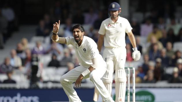 Ishant Sharma has been the pick of the Indian bowlers with 18 wickets from the five games.(AP)