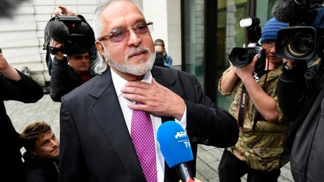 Vijay Mallya arrives at Westminster Magistrates Court in London, Britain, on September 12, 2018.(REUTERS)