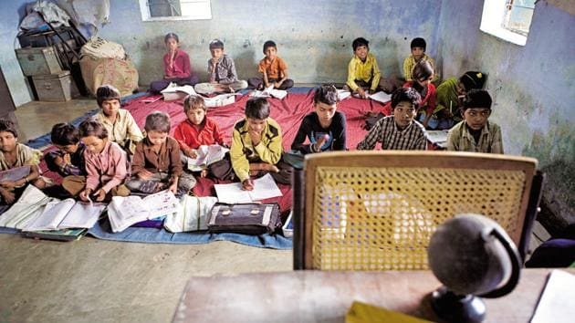 The number of students admitted under RTE in unaided schools rose from 80,000 in 2015-16 to 1.7 lakh in 2016-17.(Picture for representation)