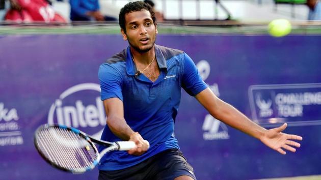 File image of Indian tennis player Ramkumar Ramanathan.(PTI)