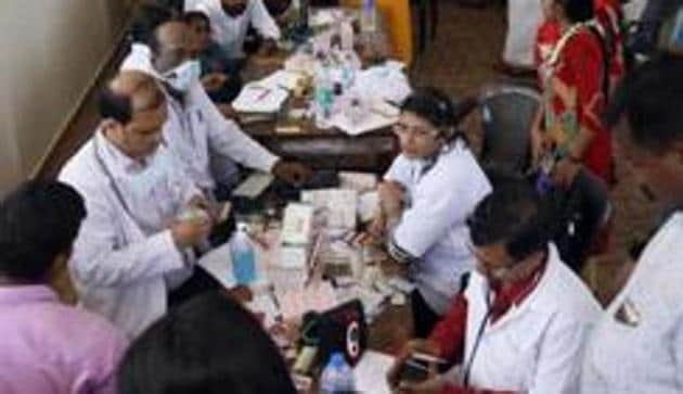 """The Uttarakhand high court has directed the state government to provide """"necessary infrastructure to government medical officers i.e. computers and printers within a reasonable period"""" so that they could issue printed prescriptions.(PTI/Picture for representation)"""