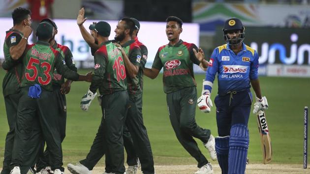 Score and updates: Bangladesh vs Sri Lanka(AP)