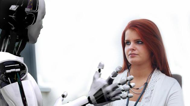 WEF's report,The Future of Jobs 2018, foresees robots swiftly replacing humans in the accounting, client management, industrial, postal and secretarial sectors.(File Photo)