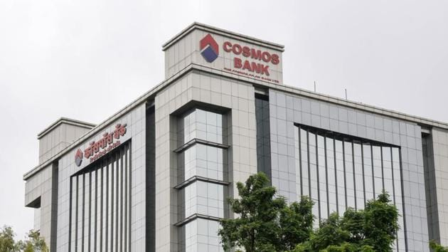 Cosmos Bank headquarters in Pune.(Sanket Wankhade/HT File Photo)