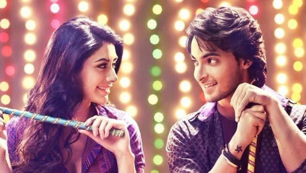LoveYatri, starring Aayush Sharma and Warina Hussain, is set in Gujarat.(Twitter)