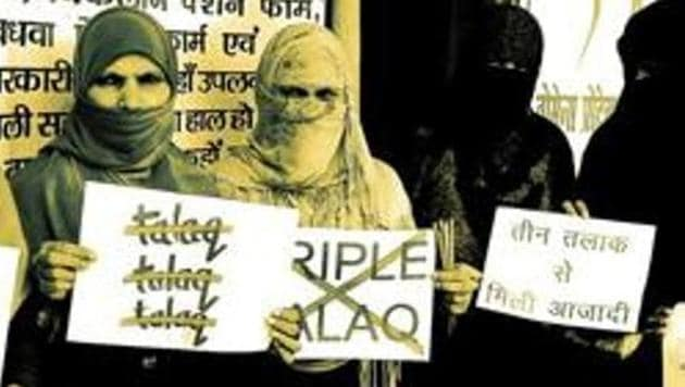 """India's Supreme Court last year banned instant triple talaq or 'talaq-e-biddat' practised by some in the Muslim community, saying it was """"unconstitutional"""".(File Photo)"""