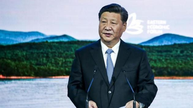 """Chinese President Xi Jinping (pictured) told Pakistani army chief General Qamar Javed Bajwa on Wednesday that the two countries were """"iron friends"""", China's official Xinhua news agency reported.(Reuters/File Photo)"""