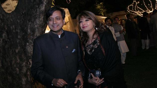 Sunanda Pushkar was found dead in a suite of a luxury hotel in Delhi on the night of January 17, 2014.(HT/File Photo)