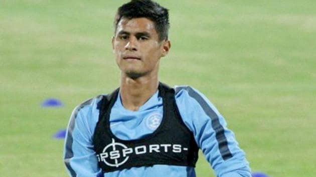 Eugeneson Lyngdoh will play for ATK in the Indian Super League (ISL).(Twitter)