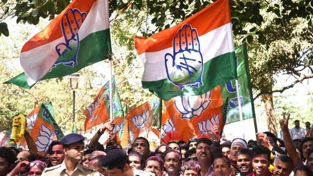 As work on the manifesto and strategy continue, the Congress is keen to tap young volunteers — with some connections with the Congress — in large numbers for back-end support.(HT File Photo)