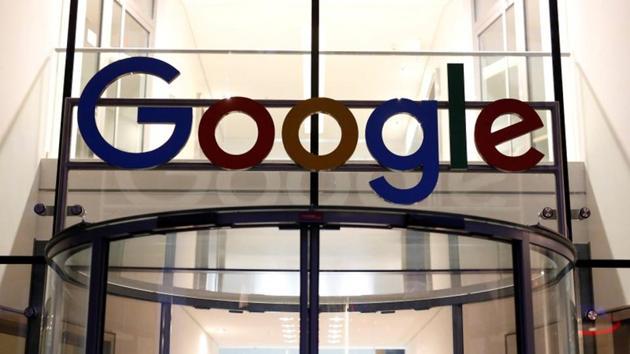 The Google logo adorns the entrance of Google Germany headquarters in Hamburg, Germany.(Reuters File Photo)