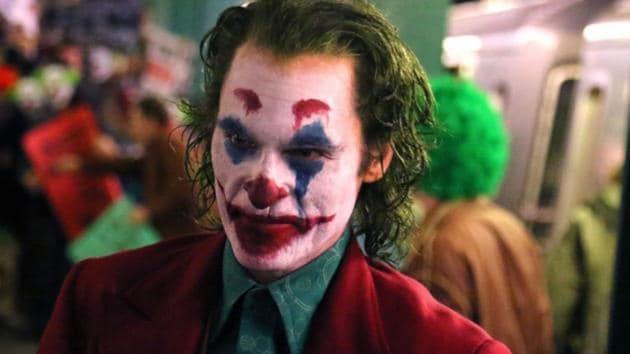 Three-time Oscar nominee Joaquin Phoenix as the Joker.