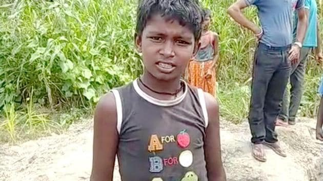 The district magistrate of East Champaran said Heera Kumar (in photo) is a role model of Swachh Bharat Mission(HT Photo)