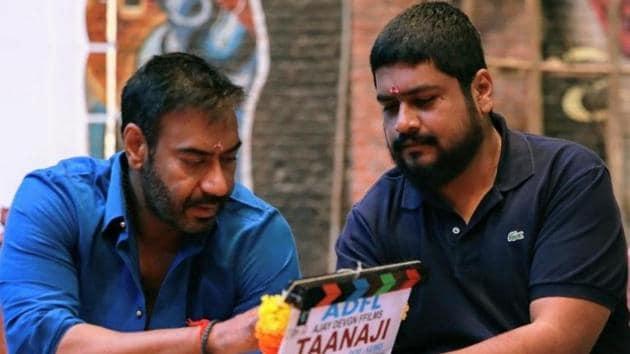 Ajay Devgn kick off the shoot for Taanaji The Unsung Warrior.