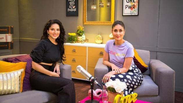 Sunny Leone is the first guest on Kareena Kapoor's radio show.