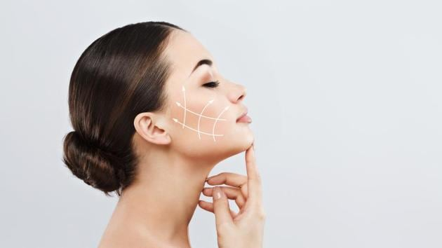 With ageing, hormones become unbalanced and we can see the changes following menopause. Due to this, women experience dry skin or oily skin and even adult acne.(Shutterstock)