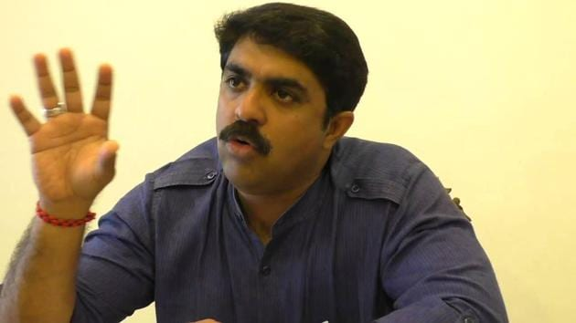 """Goa minister Vijai Sardesai said the other cabinet ministers would try and act as """"shock absorbers"""" to ensure that the notion of government having come to a standstill does not spread.(HT FIle Photo)"""