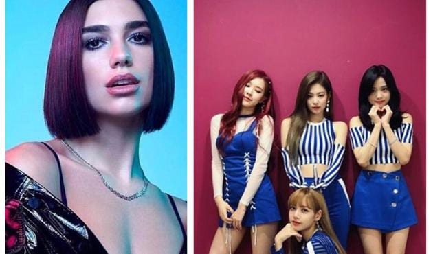 Dua Lipa and K-pop girl group Black Pink have teamed up for a new song, Kiss and Make Up, which will be a part of Lipa's upcoming album(Photo collage: Instagram/blackpinkofficial & dualipa)