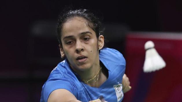 File photo of Indian badminton player Saina Nehwal.(AP)