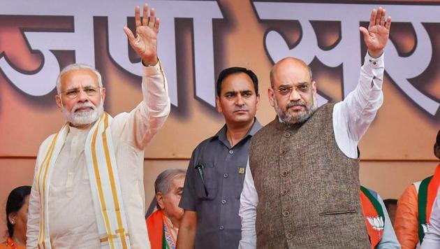 Prime Minister Narendra Modi met a group of senior BJP leaders about three weeks back where the details of this campaign were presented to them by a senior official in the Prime Minister's Office.(PTI File Photo)