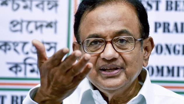 The Delhi High Court on Friday extended former Finance Minister P Chidambaram's interim protection from arrest in the INX Media money laundering case till October 25.(PTI)