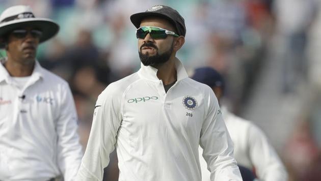 File image of India captain Virat Kohli.(AP)