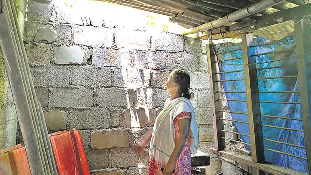 Pathanamthitta, India – September 05, 2018: Thankamma, a 68-year-old cancer patient at Attathodu village in Ranni Block of Pathanamthitta District of Kerala, India on Wednesday, September 05, 2018.(HT Photo)