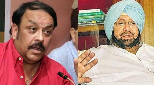 The CM's statement came two days after Malik questioned the functioning of the Congress government in the state.(HT File)