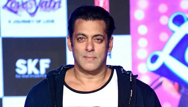 Salman Khan is all set to launch his brother-in-law Aayush Sharma with Loveyatri.(AFP)