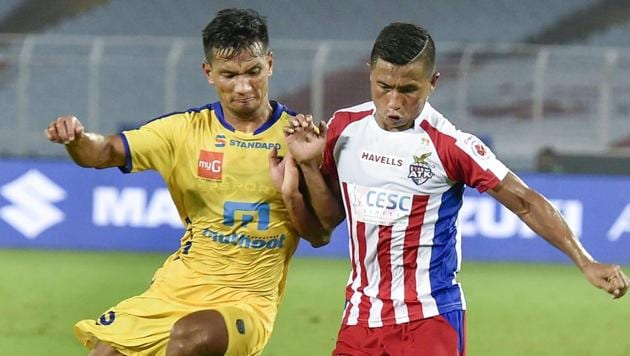 ATK lost their opening game against Kerala Blasterson Saturday.(PTI)