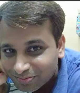 The accused, Tushar savarkar (in pic) and Sachin Salve were produced in court and have been remanded in the bureau's custody for two more days(HT photo)