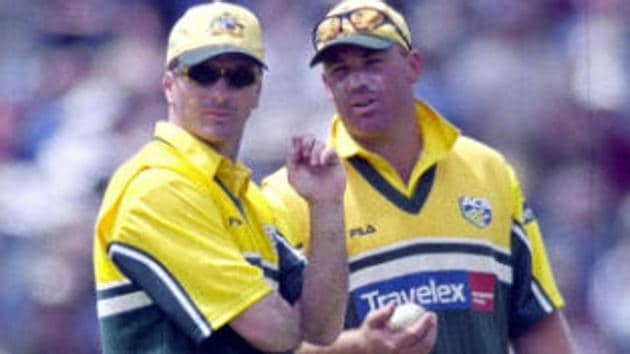 Shane Warne (R) called Steve Waugh 'the most selfish player I have played with'.(REUTERS)