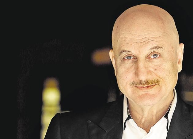 Actor Anupam Kher.(HT File)