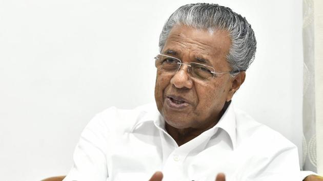 Kerala CM Pinarayi Vijayan will on Monday meet Pandalam royal family and Sabarimala priests.(PTI File Photo)