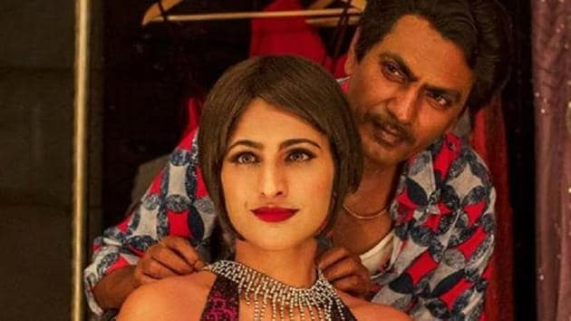 Actors Kubbra Sait and Nawazuddin Siddiqui in a still from the web series Sacred Games.