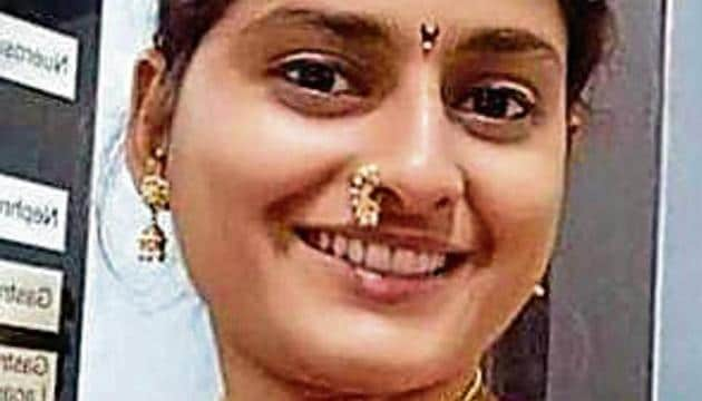 Dr Krupali Nikam, who died after her throat was slit by manja (synthetic thread used to fly kites).(HT photo)