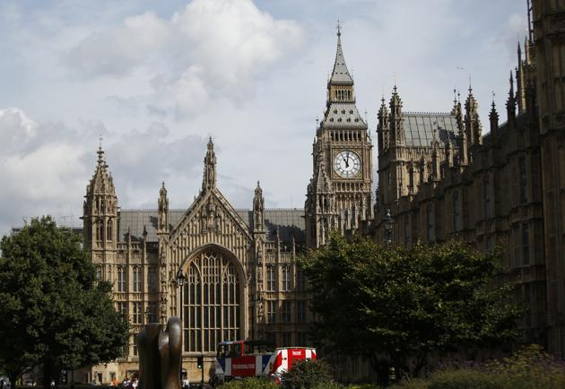 A general view of Palace of Westminster and the Queen Elizabeth Tower which contains the bell known as 'Big Ben' in London.(AP Photo)