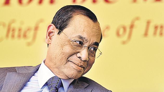 """Hindustan Times learns that the chief justice also attacked the issue of corruption in the higher judiciary. He reportedly told the high court chief justices not to """"hesitate in withdrawing judicial work from judges who are under a cloud.(HT file photo)"""
