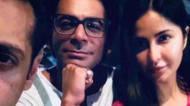 Katrina Kaif and Salman Khan on the Malta sets of Bharat.