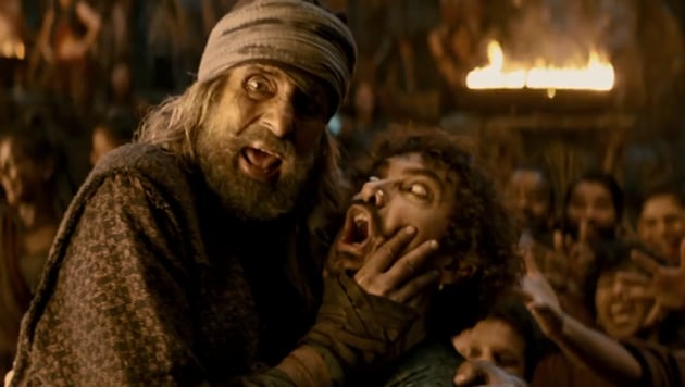 Watch Thugs of Hindostan song Vashmalle featuring Aamir Khan and Amitabh Bachchan .