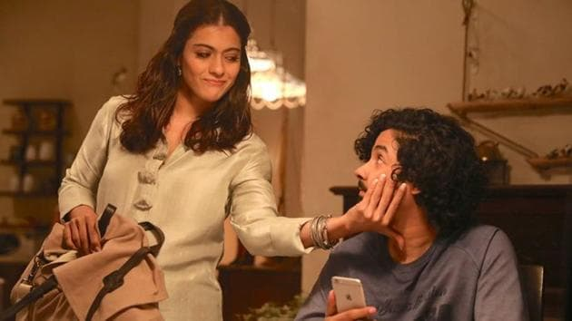 Helicopter Eela movie review: Kajol plays the role of Eela Raiturkar and Riddhi Sen plays her son.