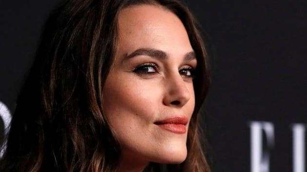 Actor Keira Knightley poses at the 25th annual ELLE Women in Hollywood in Los Angeles, California.(REUTERS)