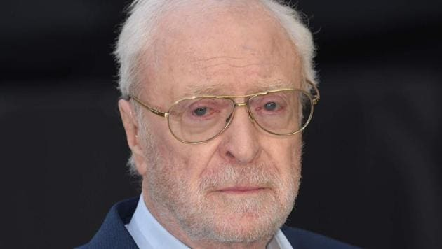 British actor Michael Caine poses on the red carpet for the world premiere of King of Thieves in central London.(AFP)