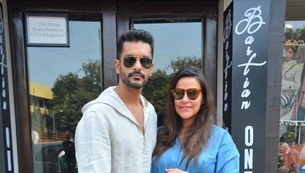 Neha Dhupia and Angad Bedi are set to welcome their first child.(IANS)