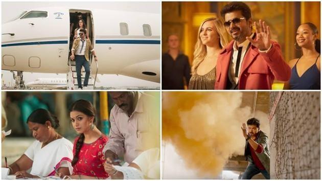 Sarkar teaser: Vijay plays a stylish business man, who turns politician in the film.