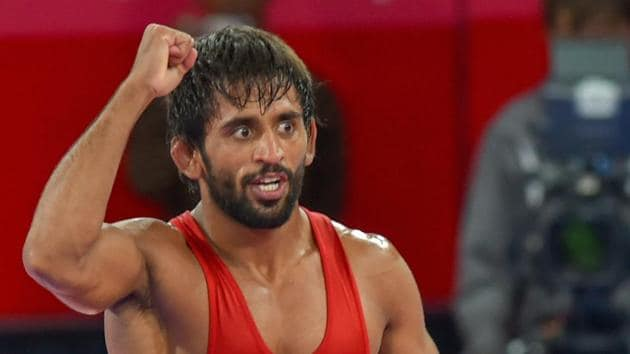 Bajrang Punia is only Indian to be seeded at the World Wrestling Championship.(PTI)