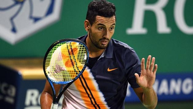 File picture of Nick Kyrgios(AFP)